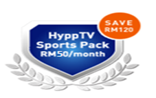 hypptv sports packs