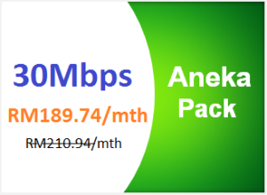 unifi advance 30mbps aneka pack
