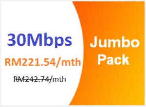 unifi advance 30mbps jumbo pack