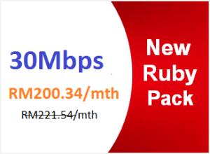 unifi advance 30mbps ruby pack