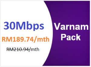 unifi advance 30mbps varnam pack