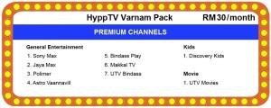 unifi hypptv Varnam Pack
