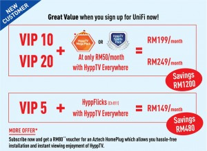 new customer promotoin for hypptv