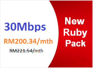 unifi advance 30mbps ruby pack
