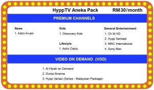 unifi hypptv Aneka Pack